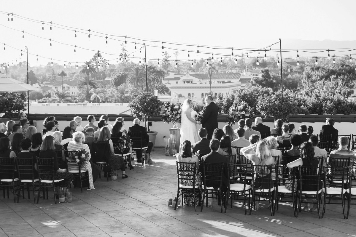 Canary Hotel wedding photographer Santa Barbara, CA
